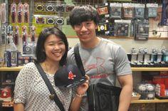 【大阪店】2014年5月14日 シンガポールから!ボストン・レッドソックスのキャップをご購入いただきました! #mlb
