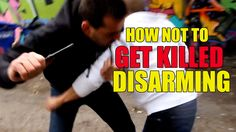Limitations of grabbing the wrist in knife defence.