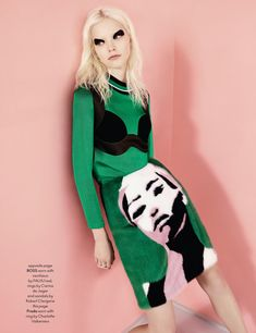 visual optimism; fashion editorials, shows, campaigns & more!: sasha luss by ben toms for anOther spring/summer 2014
