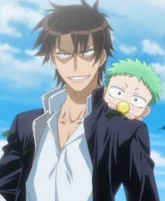 Beelzebub -thats me and my baby brother ben