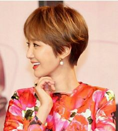 Korean actor jun hee go short cut