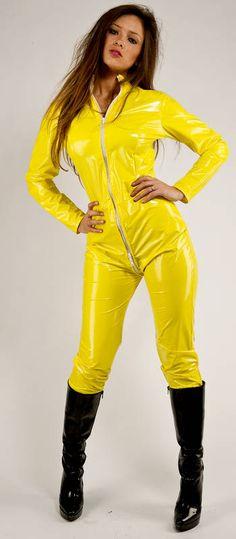 KEMO Cyberfashion Onlineshop für Mode und Regenkleidung aus PVC-Lack-Catsuit