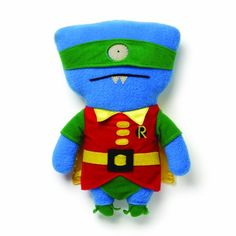 OH YES!!!!  Uglydoll DC Comics from Gund Wedgehead as Robin 11 inches Gund http://smile.amazon.com/dp/B00HWMUZFO/ref=cm_sw_r_pi_dp_WwGFub16GMMHA