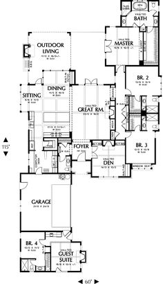 Beautiful Alternate Floor Plan (Mascord).