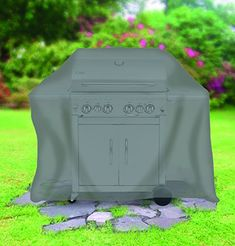 tepro 8405 Large Universal Cover for Gas Grill - Anthracite