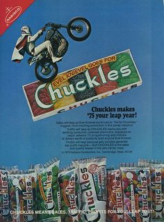 """Chuckles Candy ads 