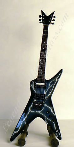 Dimebag D's Lightnig Guitar R.I.P Dimebag...everytime lightning and thunder strikes, I know you causeD it! ROCK THE HEAVENS MY BROTHER!
