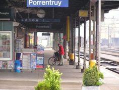 Bahnhof von Porrentruy