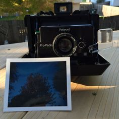 The ProPack is one of my favorite pack film cameras to shoot with! Light, durable and compact. Polaroid Cameras, Vintage Polaroid, Fujifilm, Compact, Polaroid Camera