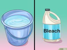 2 metode simple: cum să redați albul imaculat ciorapilor, maiourilor și tricourilor - Fasingur Bleach, Water Bottle, Drinks, Beverages, Water Flask, Drink, Beverage, Drinking