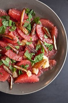 Grapefruit salad from Not Without Salt
