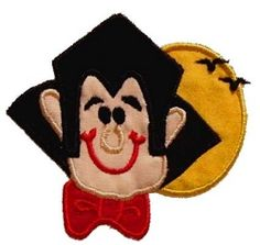 The Count Applique | Halloween | Machine Embroidery Designs | SWAKembroidery.com Band to Bow