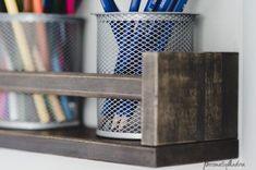 IKEA Spice Rack as Desk Organizer Hack