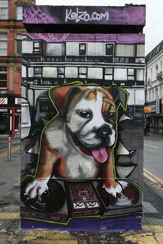 DJ Dog by Kelzo | Flickr - Photo Sharing!