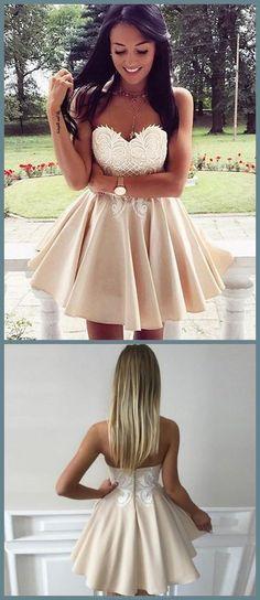 A-Line Homecoming Dresses #ALineHomecomingDresses