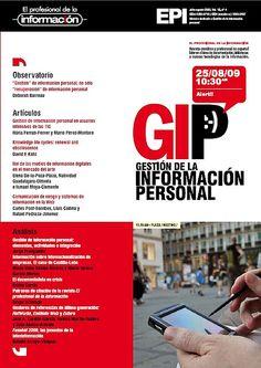 Gestión de la información personal (vol. 18, núm. 4, julio-agosto 2009)