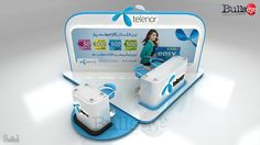 Telenor easy card booth