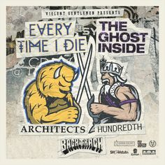 Every Time I Die Vs The Ghost Inside At Summit Music Hall | Denver's Music Scene | Music Scene in Denver | Music in Denver | Denver | Colorado | 303 Magazine