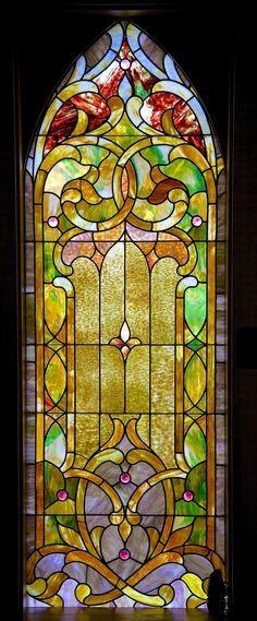 https://flic.kr/p/uCZ7gh | Stained Glass Chapel Window 01