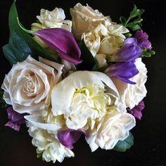 Bridesmaid Bouquet #2 // #Flowers for a #wedding in #Breck #breckweddings  http://www.petalandbean.com/2014/06/06/ashleys-bouquet-flowers-for-a-wedding-at-the-lodge-at-breckenridge/