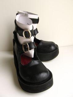 Miho matsuda double strap shoes  SIZE M