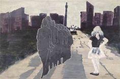 "Saatchi Art Artist Hester van Dapperen; Painting, ""Out of Town"" #art"