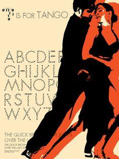 Tango Font by Julian Weisensel, via Behance