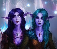 Night Elves by DancinFox.deviantart.com