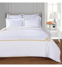 2pc Egyptian Cotton Baby Cot Bed Duvet Quilt Cover Pillowcase Toddler 300 TC