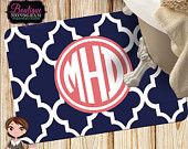 Custom Cushion Mat, Personalized and Monogrammed Floor Mat/Bath Mat/Kitchen Mat