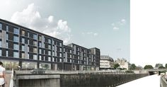 Stirling Urban Regeneration - Affordable one & two bedroom flats with retail/commercial at street level