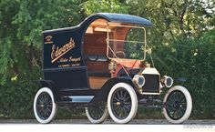 1913 Ford Model T C-Cab Delivery Car
