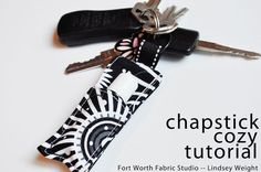 Chapstick Cozy Tutorial -- Fort Worth Fabric Studio --Lindsey Weight