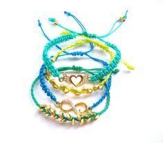 Braccialetti colorati  #summerbag #limoni