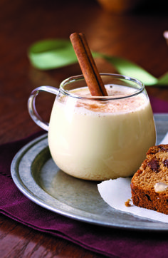 ... Easier, Sweeter Holidays + Amazingly Good Eggnog recipe #festivities