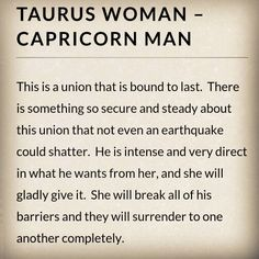 Taurus man capricorn woman sexually pics 304