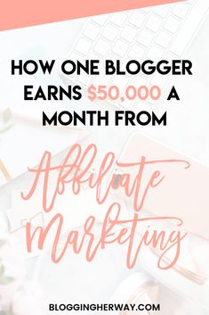 How This Blogger Makes $50,000 a Month Blogging Make Money Blogging, How To Make Money, Apps, Blogging For Beginners, Social Media Tips, Blog Tips, How To Start A Blog, Affiliate Marketing, Passive Income