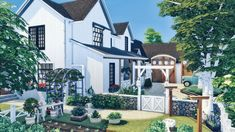 Home And Family, Farmhouse, Mansions, House Styles, Home Decor, Sims 4 Houses, Sims House, Decoration Home, Manor Houses