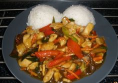 Kuracie Kung Pao - Recept Meat Recipes, Asian Recipes, Chicken Recipes, Cooking Recipes, Healthy Recipes, Ethnic Recipes, China Food, Czech Recipes, Rind