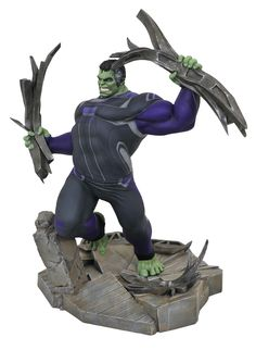 Get ready for the finale with this Marvel Gallery Avengers: Endgame Team Suit Hulk Deluxe PVC Figure. This high-grade plastic diorama is based on the epic finale to the popular Marvel series. Pop Marvel, Marvel Comics, Captain Marvel, Captain America, Hulk Marvel, Hulk Hulk, The Avengers, Avengers Film, Coleccionables Sideshow