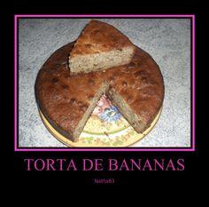 Torta Humeda de Bananas