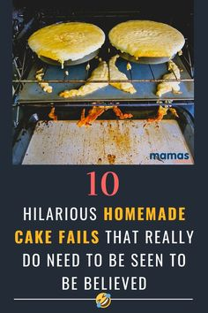 These 10 hilarious homemade cake fails prove that we all can't be bakers or artists and that not all cake looks good enough to eat. But A for Effort! #Humor #CakeFails #cookingFails