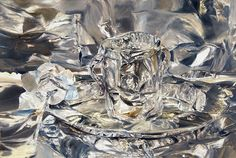 A Cup of Water and a Rose on a Silver Plate, 2007 by William Daniels