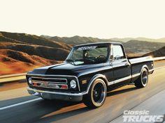 1968 Chevy C10 - Creations n' Chrome's - Classic Trucks Magazine