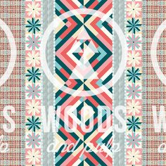 woodsandpulpToday a creation, tomorrow a collection! 'Classic Pastel' illustrated by Swen Van der Sangen.  Available at Woods and Pulp!  www.woodsandpulp.com #pattern #print #graphic #textile #industrial #prints #illustration #fashion #patterns  #woodsandpulp @woodsandpulp