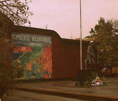 Mural dedicado a Bomberos Voluntarios, Lanús O.