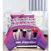 Edredón y accesorios One Direction, tamaño Twin