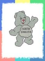 STATE CARE BEARS - PLASTIC CANVAS FOR ALL AGES