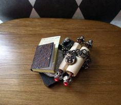 Gothic Witch Spell tray dollhouse miniature Halloween ooak Can be custom made too via Etsy