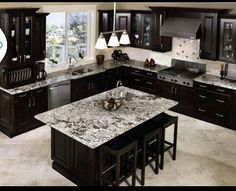 Switch the walls and then this is very close to what I want my kitchen to look like!